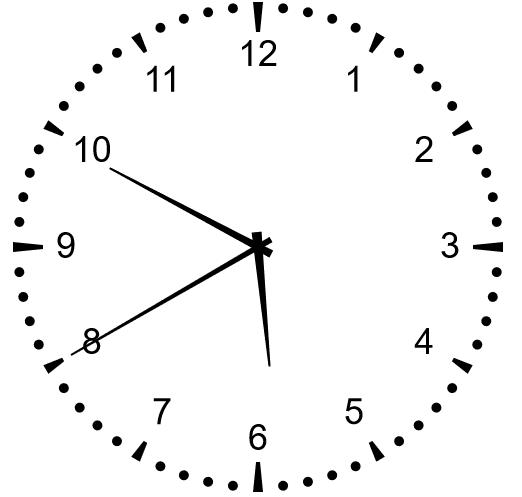 利用H5的canvas绘制时钟